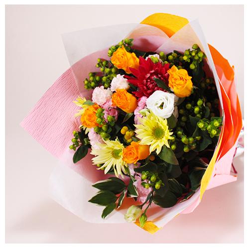 Mix色でお任せの花束