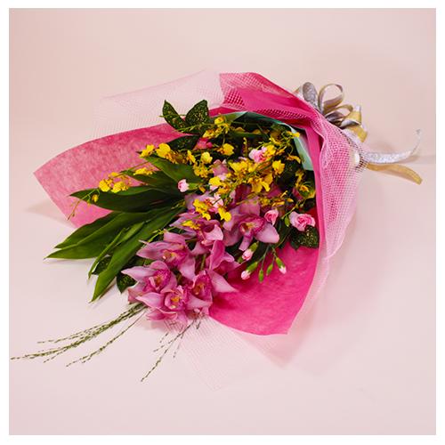 高級花メインの花束