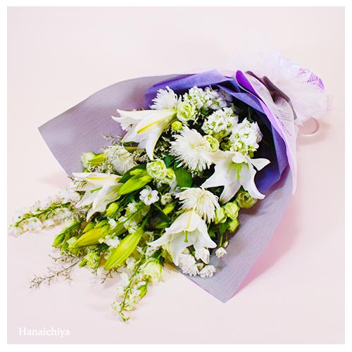 白系のお任せ御供花束