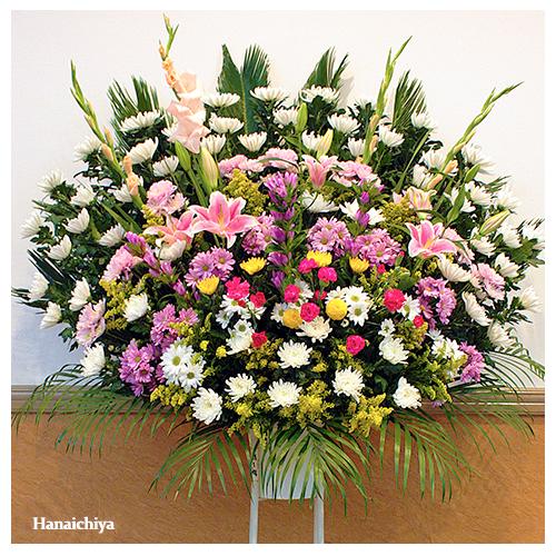葬儀スタンド花(1段)